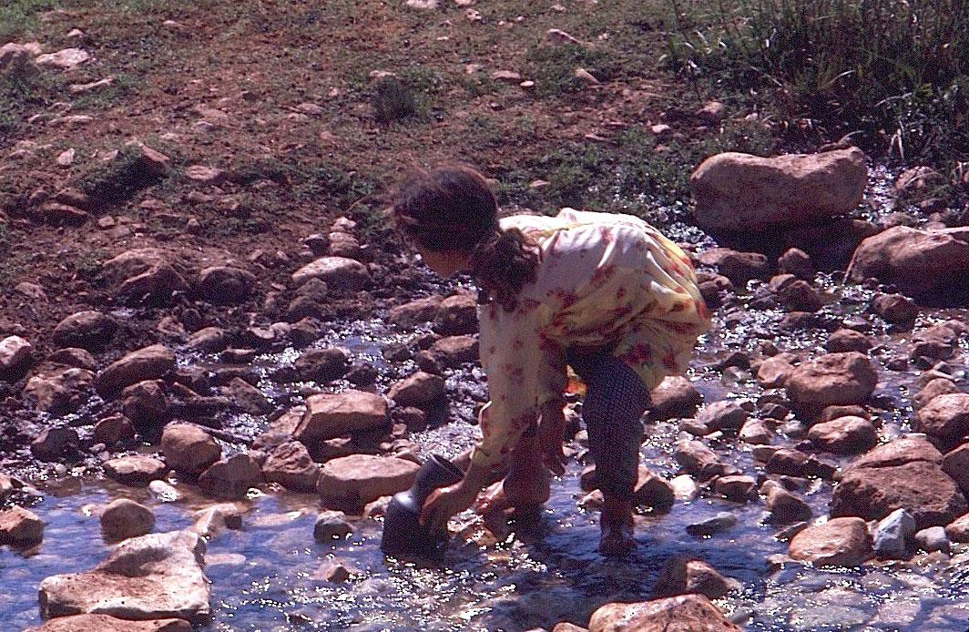 Girl-getting-water