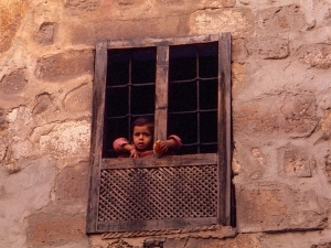 Girl-in-window